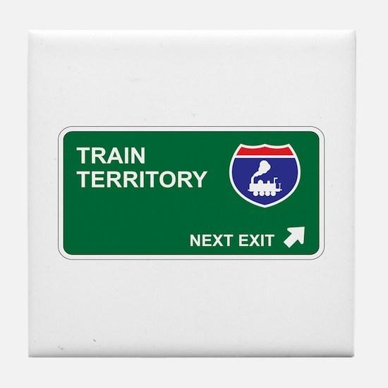 Train Territory Tile Coaster