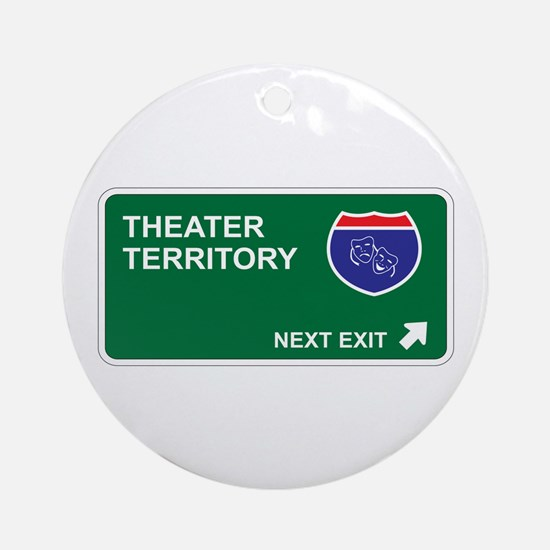 Theater Territory Ornament (Round)