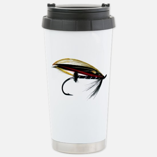 """Fly 1"" Stainless Steel Travel Mug"