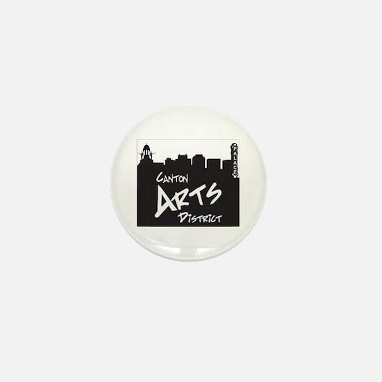 canton arts district Mini Button