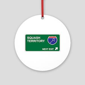 Squash Territory Ornament (Round)