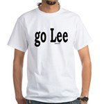 go Lee White T-Shirt