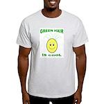 Green Hair is Cool Ash Grey T-Shirt