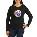 York Rite Women's Long Sleeve Dark T-Shirt