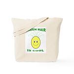 Green Hair is Cool Tote Bag