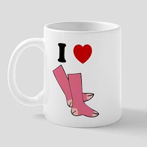 """""""I Love Pink Socks"""" Mug"""