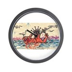 Royal Order of Jesters Wall Clock
