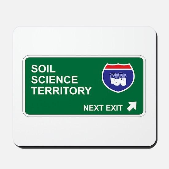 Soil, Science Territory Mousepad