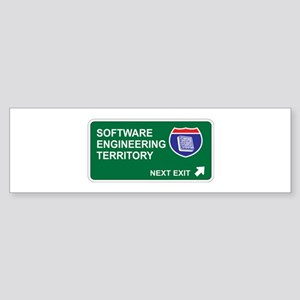 Software, Engineering Territory Bumper Sticker