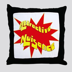 Attractive Nuisance Throw Pillow