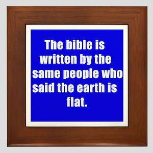 bible Framed Tile