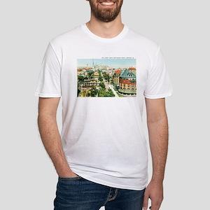 Savannah Georgia GA Fitted T-Shirt