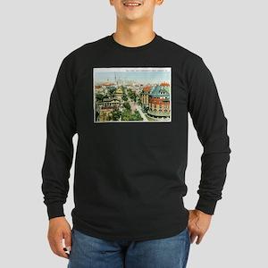 Savannah Georgia GA Long Sleeve Dark T-Shirt
