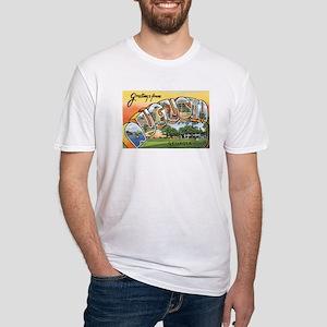 Augusta Georgia GA Fitted T-Shirt