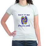 My Athletic Shoe Jr. Ringer T-Shirt