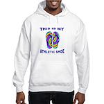 My Athletic Shoe Hooded Sweatshirt
