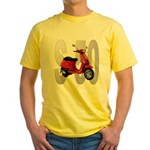 Scooter S 50 Yellow T-Shirt