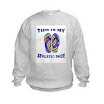My Athletic Shoe Kids Sweatshirt