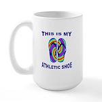 My Athletic Shoe Large Mug