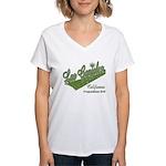 Las Ganjales Women's V-Neck T-Shirt