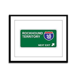 Rockhound Territory Framed Panel Print