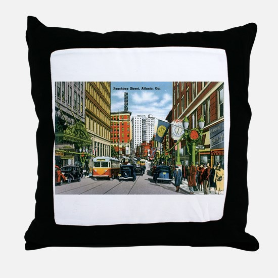 Atlanta Georgia GA Throw Pillow