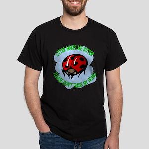 bitter litter Lady Bug Dark T-Shirt