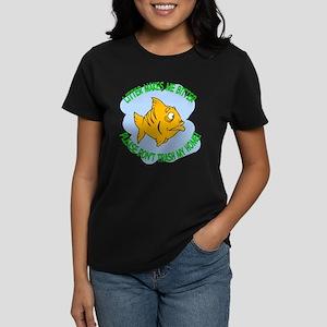 Bitter Litter Fish Women's Dark T-Shirt