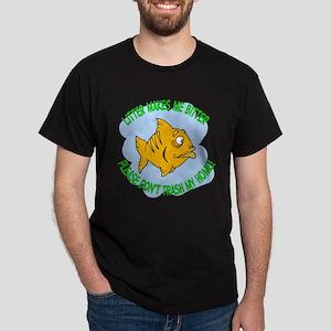 Bitter Litter Fish Dark T-Shirt