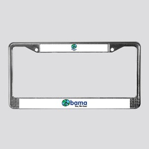 Obama Peace 2008 License Plate Frame