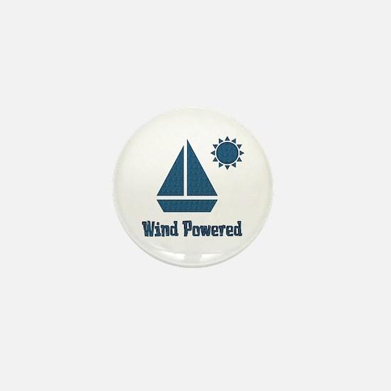 Wind Powered Mini Button