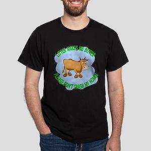 bitter litter cow Dark T-Shirt