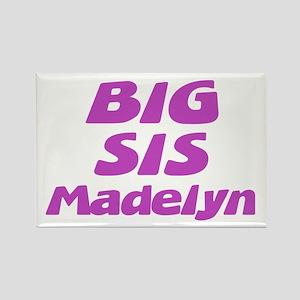 Big Sis Madelyn Rectangle Magnet
