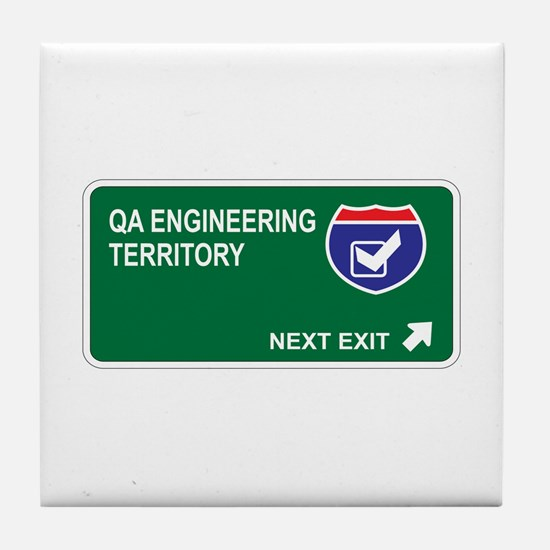 QA Engineering Territory Tile Coaster