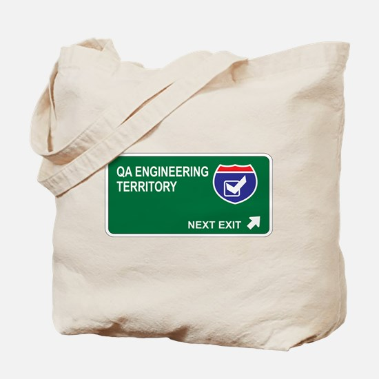 QA Engineering Territory Tote Bag