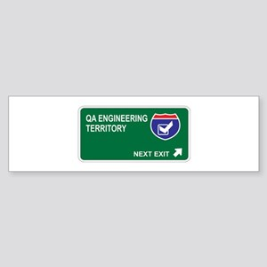 QA Engineering Territory Bumper Sticker