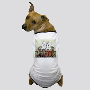 Westie Puppy Basket Dog T-Shirt