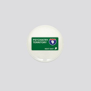 Psychiatry Territory Mini Button