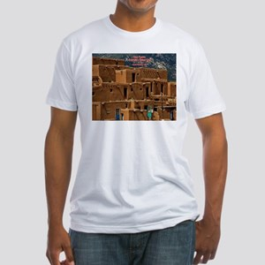 Taos Pueblo Fitted T-Shirt