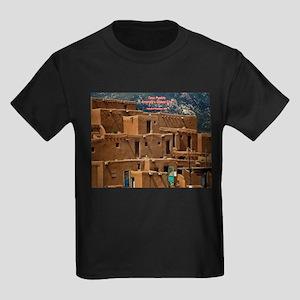 Taos Pueblo Kids Dark T-Shirt