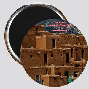 Taos Pueblo Magnet