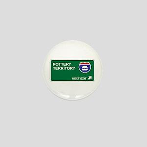 Pottery Territory Mini Button