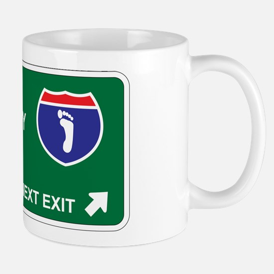 Podiatry Territory Mug