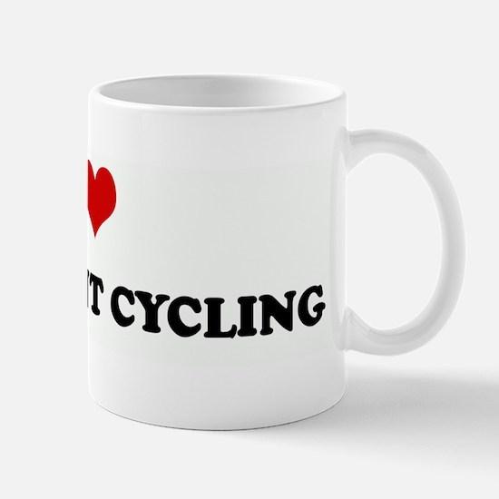 I Love RECUMBENT CYCLING Mug