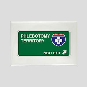 Phlebotomy Territory Rectangle Magnet