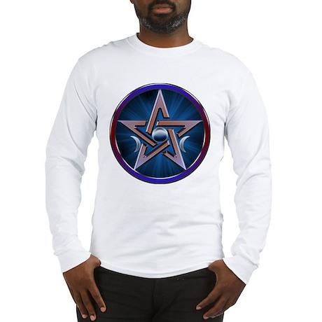Lunar Goddes Pentagram Long Sleeve T-Shirt