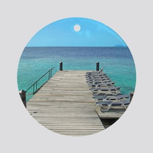 Bellafonte Dock Ornament (Round)