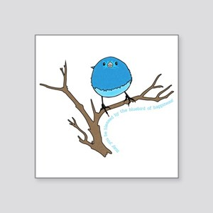 Bluebird Of Happiness Blessing Sticker