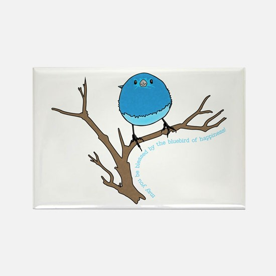 Bluebird Of Happiness Blessing Magnets