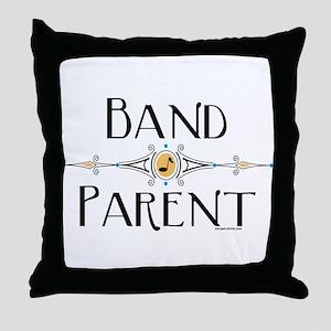 Band Parent Throw Pillow